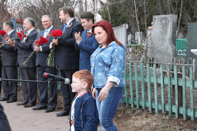 внучка героя Анастасия Анатольевна Булатова и правнук