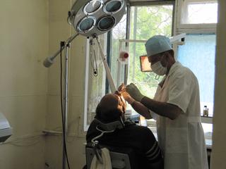 Ремонт в стоматологической поликлинике