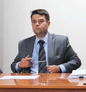 Председатель городской Думы Е.А. Рычков