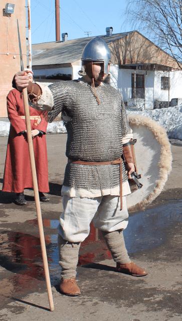 Новгородский воин