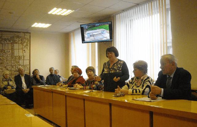 Собрание Совета ветеранов