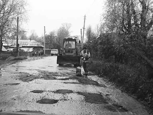 Дорога на Первомайский