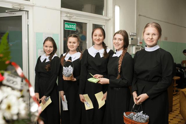 гимназистки