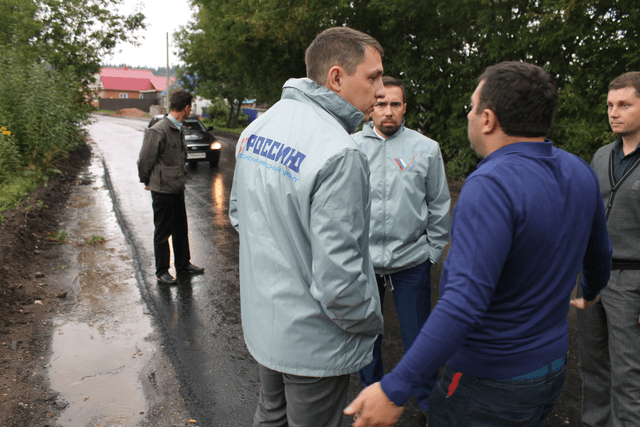 Ремонт слободских дорог под контролем  Общероссийского народного фронта и городских властей