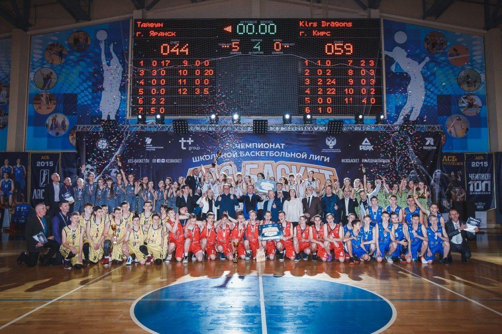 Финал регионального Чемпионата школьной баскетбольной лиги «КЭС-БАСКЕТ»
