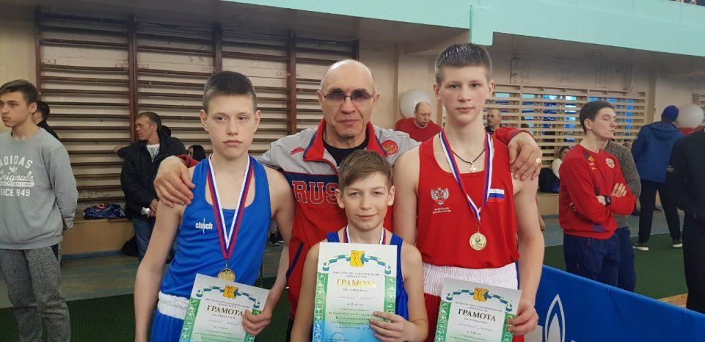 Победители открытого Чемпионата и первенства города Кирова по боксу