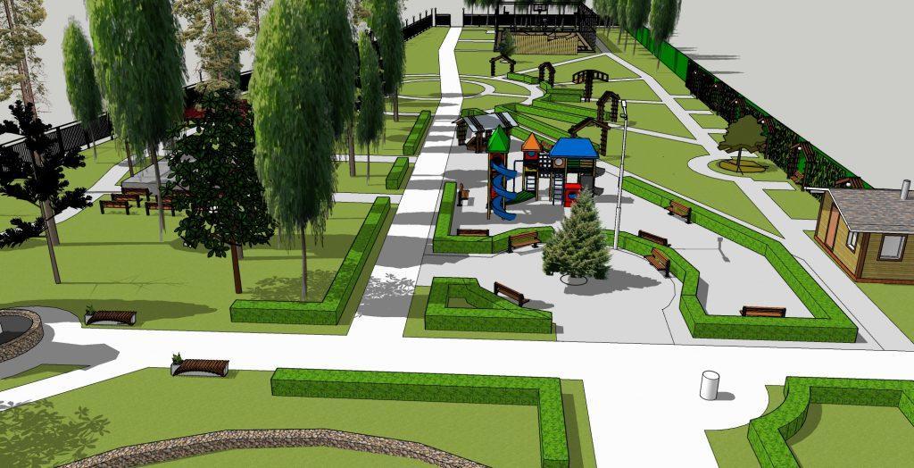 Детский парк, ДЮСШ и «Пять звёзд»