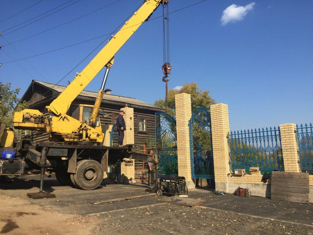 Когда откроются новые ворота Детского парка