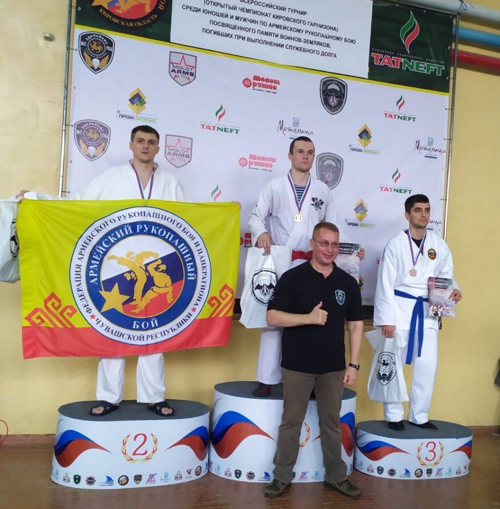 Достижения слобожан в соревнованиях по рукопашном бою
