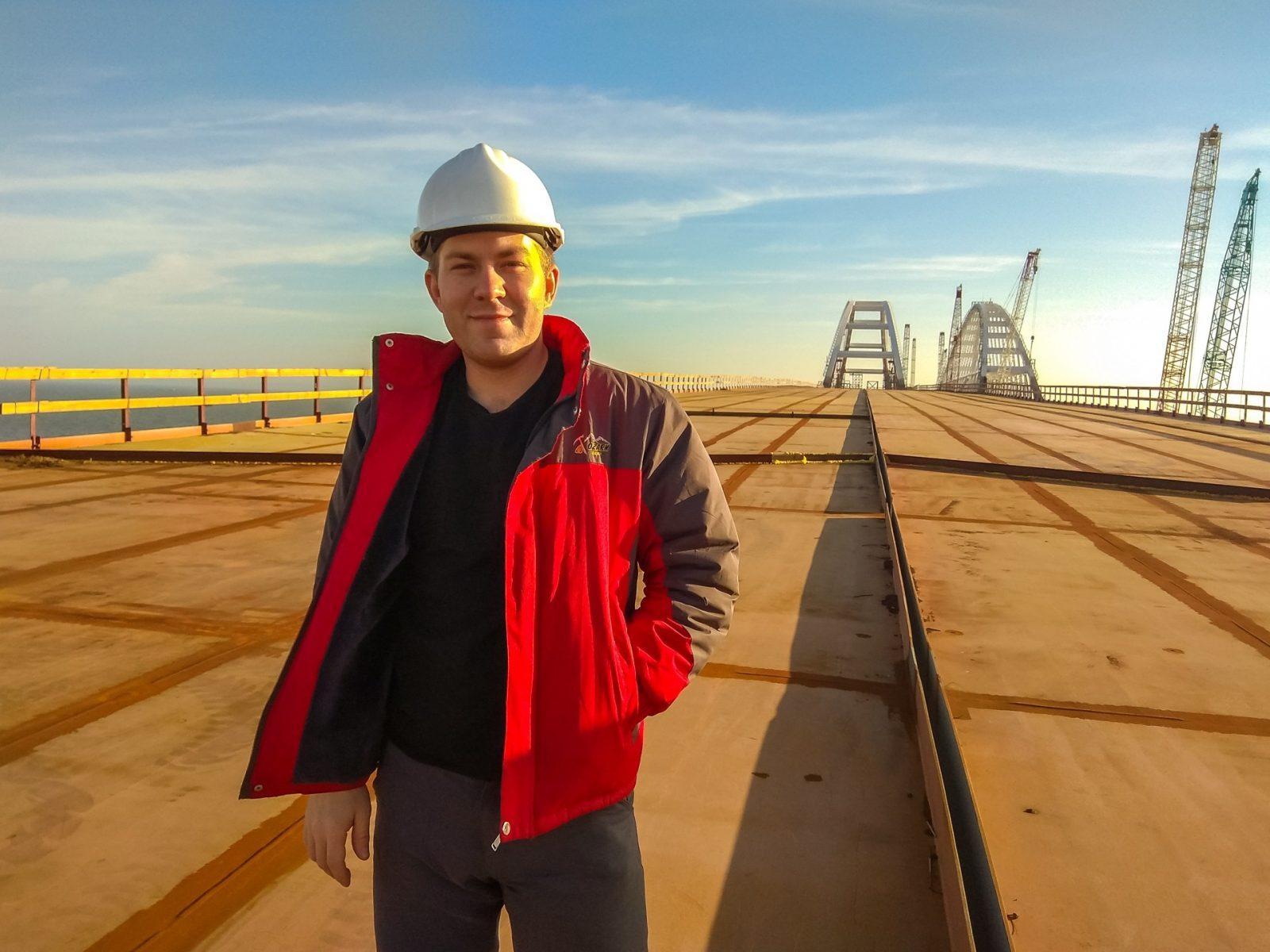 Слобожане строили Крымский мост