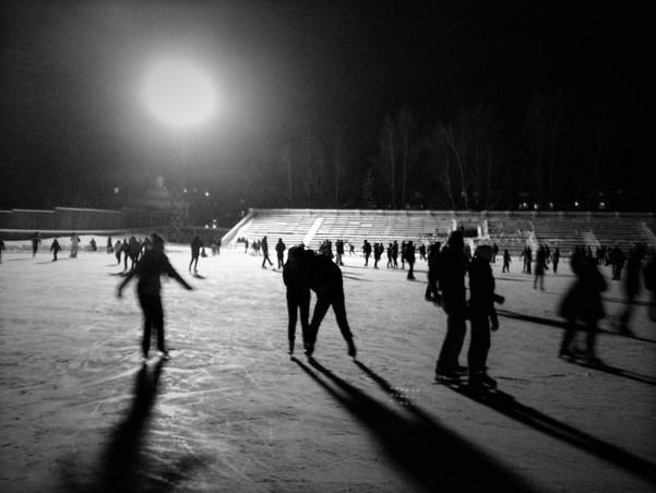 Оттепель не отменит массовых катаний на коньках