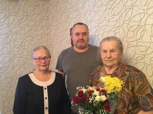 Ветераны Великой Отечественной принимают поздравления